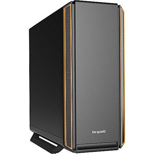 be quiet! Silent Base 801 Midi Tower Gaming Gehäuse orange