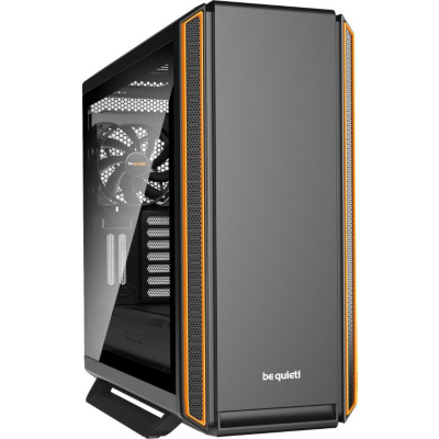 be quiet!  Silent Base 801 Orange Midi Tower Gaming Gehäuse, Glasfenster | 4260052187081