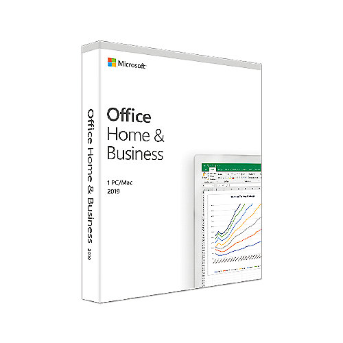 Microsoft Office Home & Business 2019 (1 Benutzer/ 1PC/Mac) DE Mac/Win
