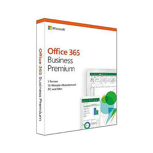 Microsoft Office 365 Business Prem. (1 Benutzer/ 15 Devices/ 1 Jahr) FR Mac/Win