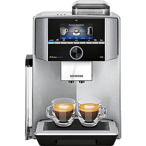 Siemens TI9555X1DE EQ.9 plus connect s500 Kaffeevollautomat Edelstahl | 4242003832653