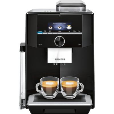 Siemens  TI923509DE EQ.9 s300 Kaffeevollautomat schwarz Edelstahl | 4242003832561