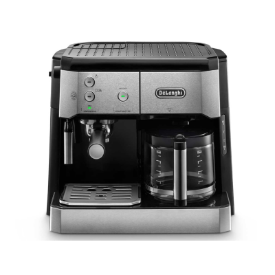 DeLonghi BCO421.S Espresso-Kombi-Kaffemaschine Silber