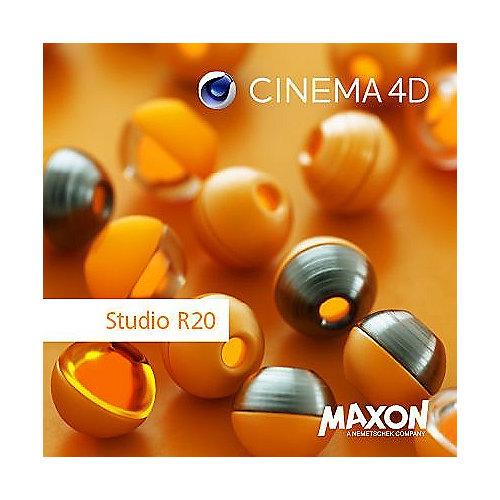 Maxon Cinema 4D R20 Studio Lizenz Upgrade von C4D Studio R18