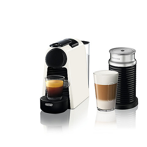 DeLonghi Essenza Mini EN85.WAE + Milchschäumer Nespresso-System weiß | 8004399332133