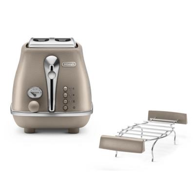 Delonghi  Icona Elements CTOE 2103.BG 2-Schlitz-Toaster Beige   8004399762008