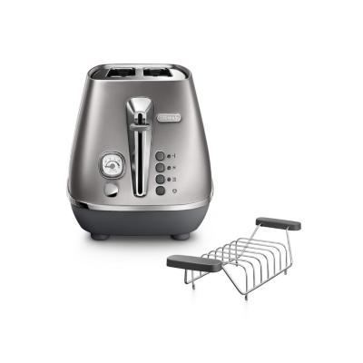 Delonghi  DISTINTA CTI 2103.S 2-Schlitz-Toaster Silber   8004399762336