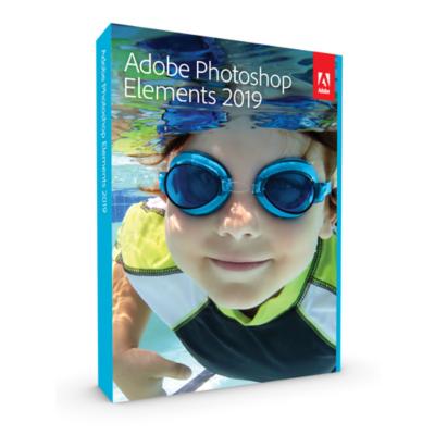 Adobe  Photoshop Elements 2019 Minibox ENG, english | 5051254647300