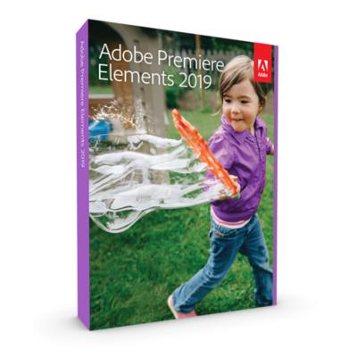 Adobe  Premiere Elements 2019 Upgrade Minibox GER, deutsch | 5051254647898