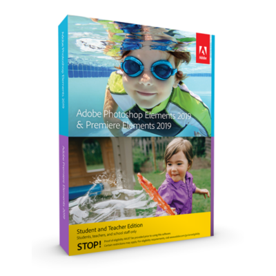 Adobe  Photoshop and Premiere Elements 2019 S&T Minibox ENG, english | 5051254647232