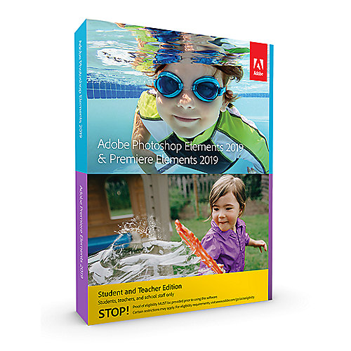 Adobe Photoshop & Premiere Elements 2019 S&T Minibox GER, deutsch