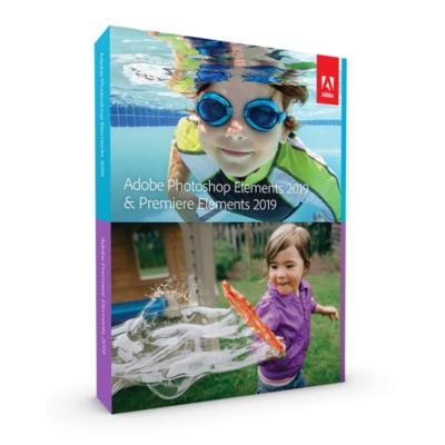 Adobe  Photoshop and Premiere Elements 2019 Upgrade Minibox GER, deutsch | 5051254647577