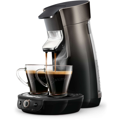 Senseo  Viva Café HD6566/50 Padmaschine schwarz/grau Metallic | 8710103873365