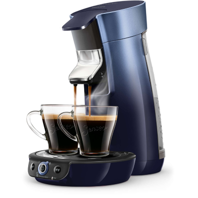 Senseo  Viva Café HD6566/60 Padmaschine blau/grau Metallic   8710103871583