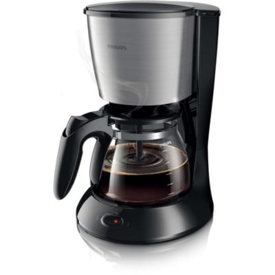 Philips  HD7462/21 Daily Collection Kaffeemaschine Armoa Swirl schwarz/ | 8710103744665