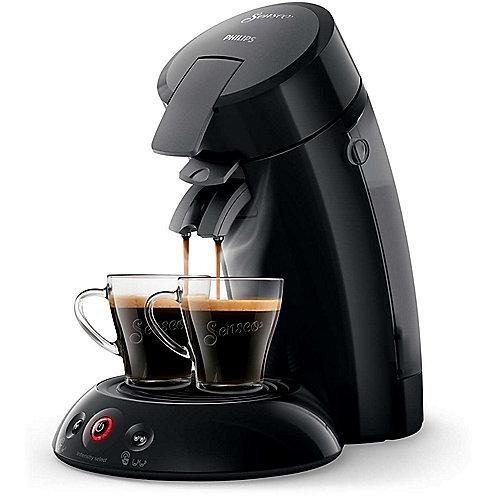 Original HD6554/66 Padmaschine mit Kaffee-Boost schwarz + 2 Gläser | 8710103887553