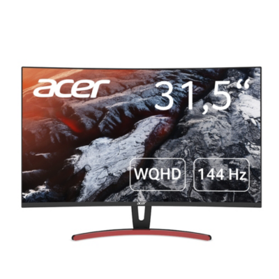 Acer  ED323QURAbidpx 80cm (31,5″) WQHD curved Design-Monitor 16:9 HDMI/DP LED-VA | 4713883776059