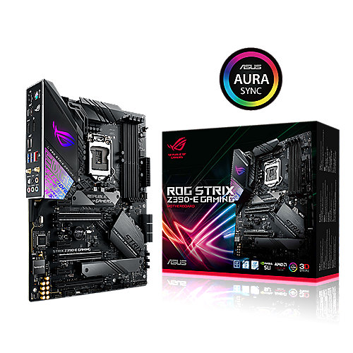 ASUS ROG STRIX Z390-E GAMING ATX Mainboard 1151 DP/HDMI/M.2/USB3.1/WIFI/BT