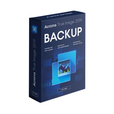 Acronis  True Image 2019 1 PC MiniBox UK   4260019575579