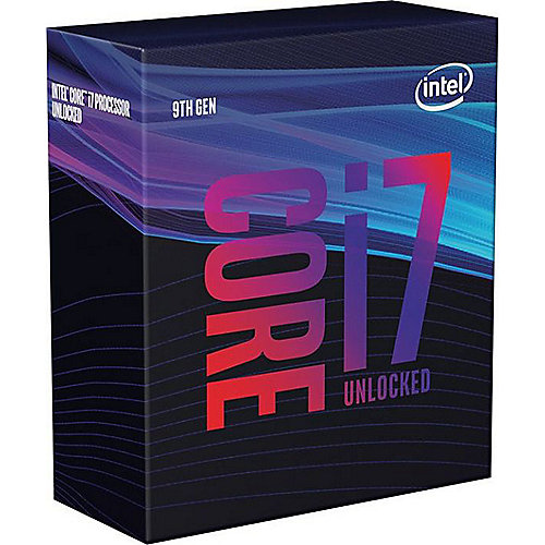 Intel Core i7-9700K 8x3,7 (Boost 4,9) GHz 12MB-L3 Cache Sockel 1151