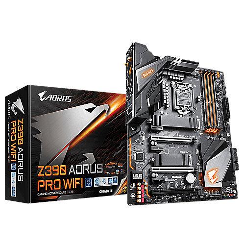 Z390 AORUS PRO WIFI ATX Mainboard 1151 HDMI/2xM.2/SATA/USB3.1/WIFI | 4719331804299