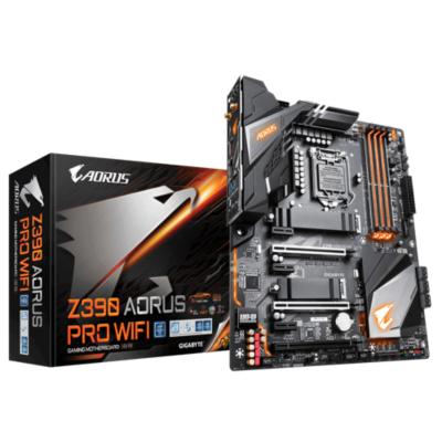 Gigabyte  Z390 AORUS PRO WIFI ATX Mainboard 1151 HDMI/2xM.2/SATA/USB3.1/WIFI | 4719331804299