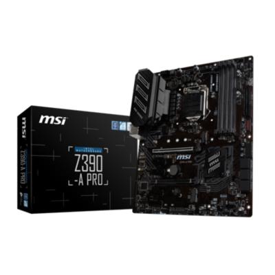 MSI  Z390-A Pro ATX Mainboard Sockel 1151 | 4719072594152