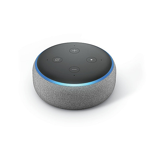 Amazon Echo Dot (3. Generation) Hellgrau Stoff