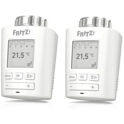 AVM  FRITZ!DECT 301 – Doppelpack – Heizkörperregler für  FRITZ!Box weiß | 4023125028229