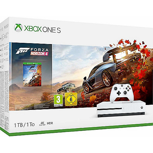 Microsoft Xbox One S Konsole 1TB Forza Horizon ...