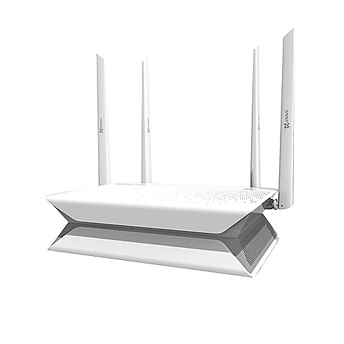 EZVIZ Vault Plus/8 AC1200 Dual Band Gigabit WiFi Router, 8 Kanäle NVR