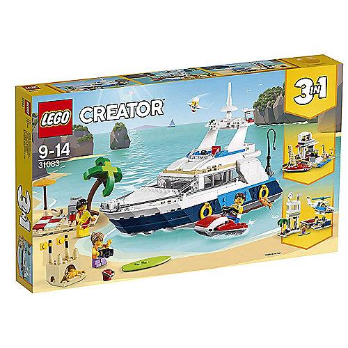 LEGO Creator – Abenteuer auf der Yacht (31083) | 5702016267006