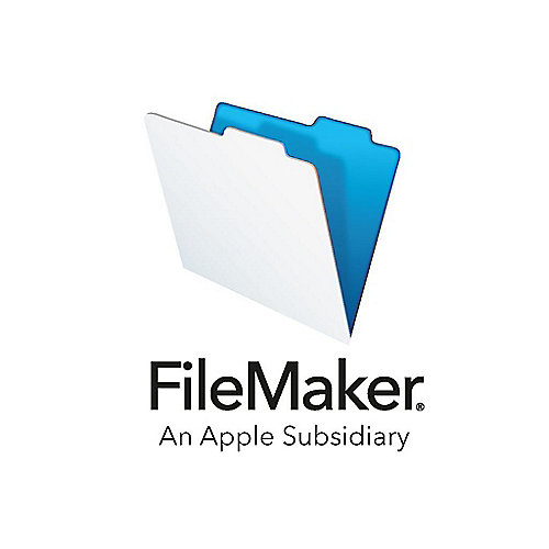 FileMaker v17 Annual Users 1Jahr 1User Lizenz Stufe 1 (1-9)