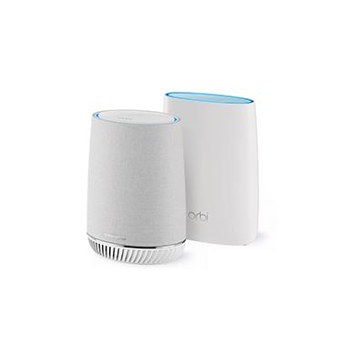 Netgear  Orbi Voice Mesh WLAN System (Bis zu 300 m², Amazon Alexa, Harman Kardon) | 0606449137200
