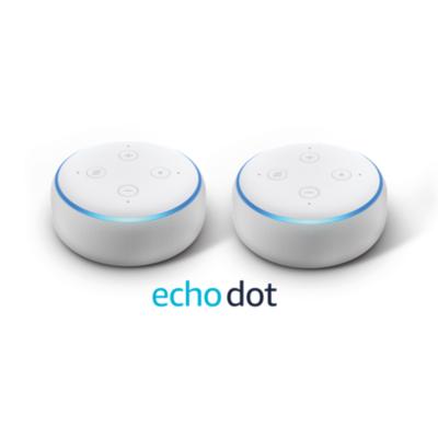 Amazon  Echo Dot (3. Generation) – Doppelpack – Sandstein Stoff | 0841667129952