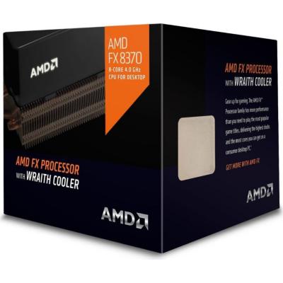 AMD  FX-8370 (8x 4,0GHz) 8MB (Vishera 125W) Sockel AM3+ boxed mit Wraith | 0730143307390