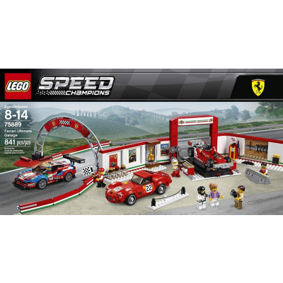 Lego  Speed Champions – Ferrari Ultimative Garage (75889) | 5702016110302
