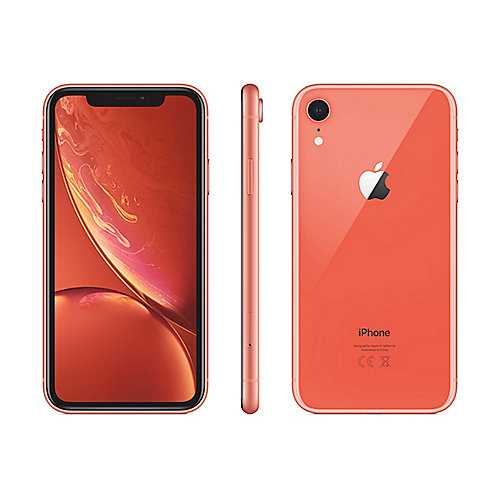 Apple iPhone Xʀ 64 GB Koralle MRY82ZD/A