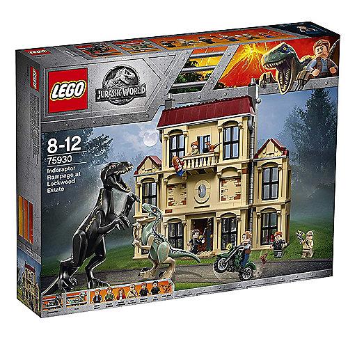 LEGO Jurassic World – Indoraptor-Verwüstung des Lockwood Anwesens (75930) | 5702016110265