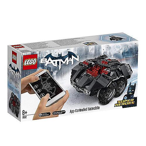 LEGO Super Heros – App-Gesteuertes Batmobile (76112) | 5702016109016