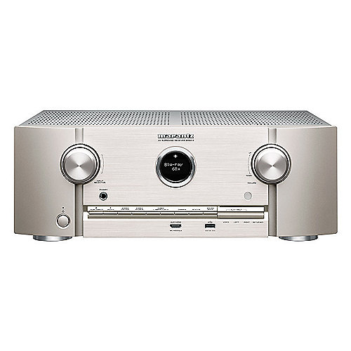 Marantz SR5013 7.2 AV Receiver HEOS/WiFi/Bluetooth/AirPlay2/DTS:X - silber