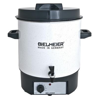 Bielmeier  BHG 480.1 Einkoch-Halbautomat Emaile 27Liter Auslaufhahn   4035161480121