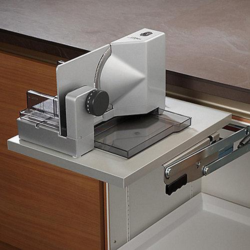 ritter E118 Einbau-Allesschneider silber f. Schwenkmechanik/Unterschrank ab 40cm | 4004822508092