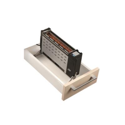 Ritter  ET 10 Einbautoaster Langschlitz-Toaster für 30cm Schublade   4004822620008