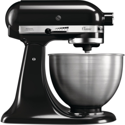 KitchenAid  CLASSIC 5K45SSEOB Küchenmaschine onyx schwarz | 5413184202712