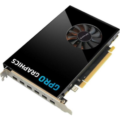 Sapphire Technologies Sapphire AMD GPro E8870 4GB GDDR5 6x mDP Grafikkarte