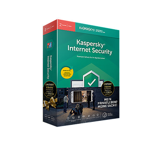 Kaspersky Internet Security 2 Geräte Limited Edition Minibox