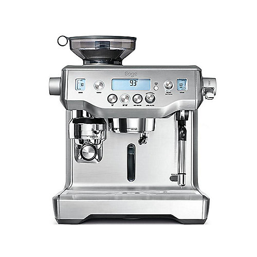 Sage Appliances SES980 Espresso-Maschine The Oracle, Gebürstetes Edelstahl