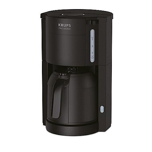Krups KM3038 FCM PRO AROMA Kaffeemaschine Edelstahl schwarz | 3045386380138