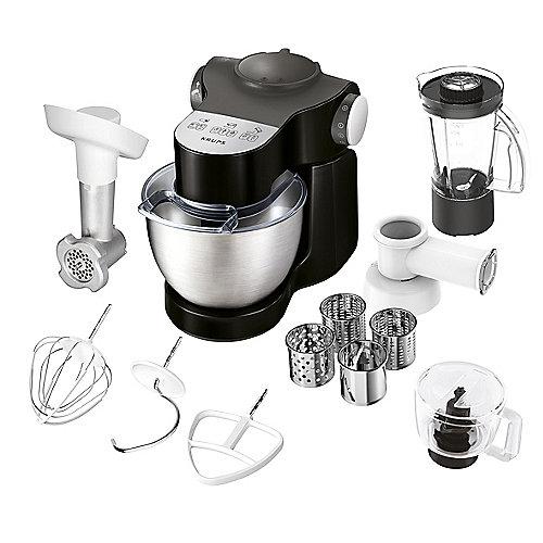 KA3198 Master Perfect Plus Küchenmaschine 1000 Watt, schwarz   0010942225553